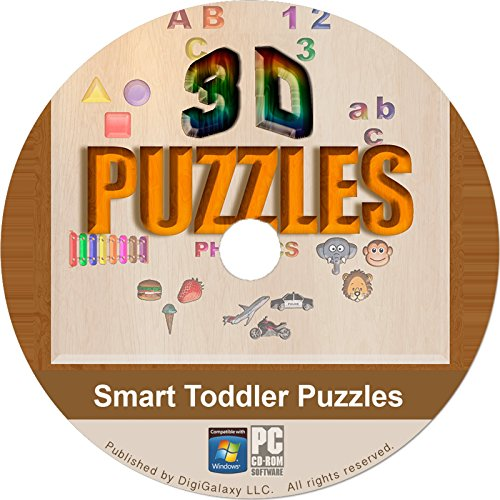 Cd Rom Kids Game Pc - Toddler Puzzles & Games - For Kindergarten & Preschool (Original) (PC Game)