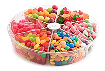 amazon com the chocolate bar assorted colorful candy gift platter