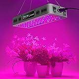 KEEGROW 600W LED Grow Light Double On/Off Switch