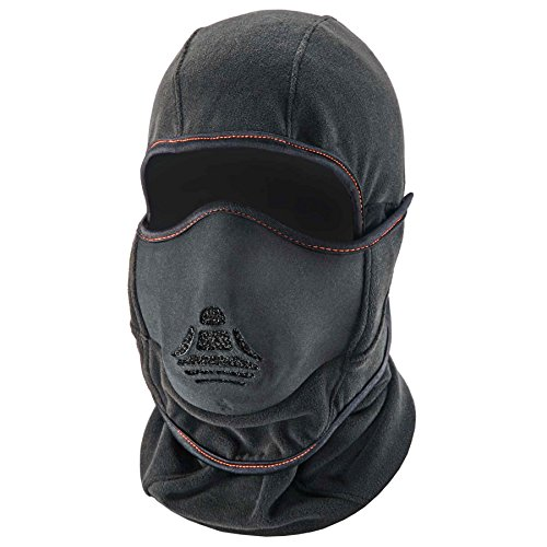 (Ergodyne N-Ferno 6970 Winter Ski Mask Balaclava with Heat Exchanger Face Mask)