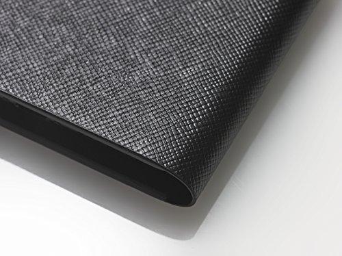 [iPhone 7 Plus Case], SQUAIR - Calf Leather Case for iPhone7 Plus - Book Type (Black) (Black) by SQUAIR (Image #4)