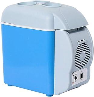 YSYW Auto Kühlschrank 12 V Camping Tragbare Reise Kühlschrank Kühler Wärmer Heizung Multifunktions Elektrischer Kühlschrank Mini Kühlschrank Kühlbox (7 5L)