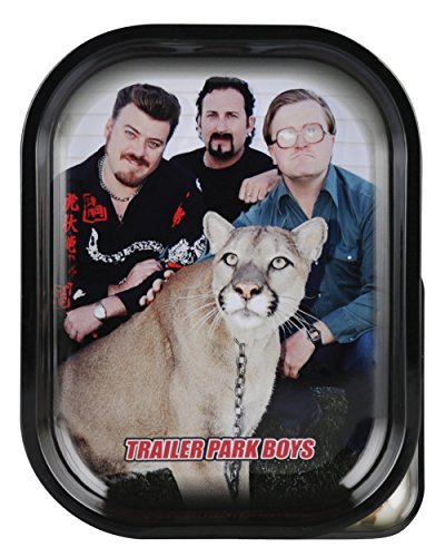(Famous Brands Trailer Park Boys Rolling Tray - Big Kitty/Assorted Sizes (Large))