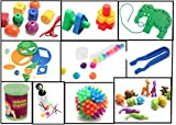Busy Bag Activity Bundle of 10 Activities - Toddler and Preschool Learning and Travel Toys