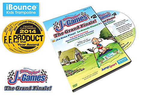 JumpSport iBounce Kids Trampoline