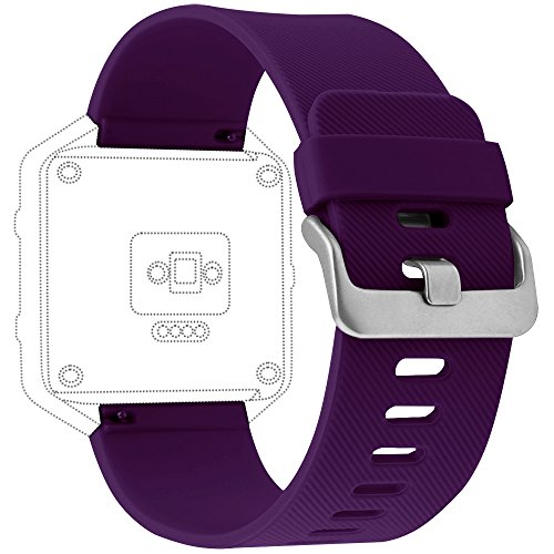 Fitbit Blaze Bands, Marge Plus Soft Silicone Accessories