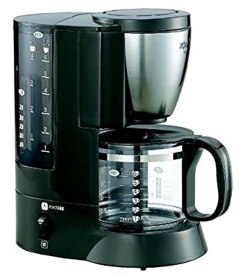 ZOJIRUSHI coffee maker coffee experts [Cup approximately 1 ~ 6 tablespoons: Stainless EC-AJ60-XJ Brown