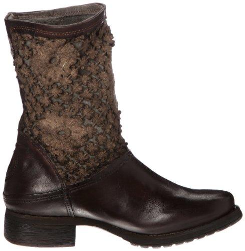 Bunker Pic - Botas de cuero mujer marrón - Marron (L Smoky)