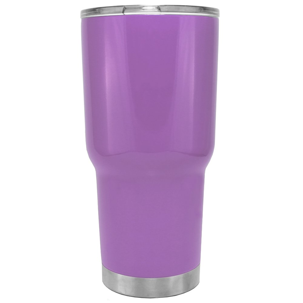 TREK Orchid Lavender Vacuum Insulated Stainless Steel 30oz Tumbler
