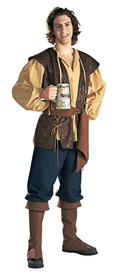 Men's Pirate Deckhand Costume - DeluxeAdultCostumes.com