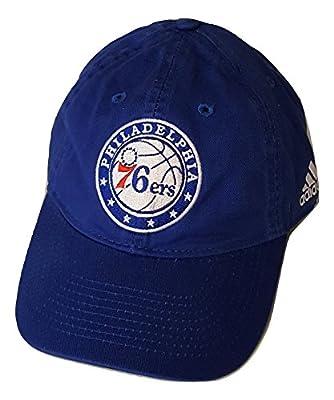 Philadelphia 76ers Slouch Adjustable Adidas Hat - Osfa - EV55Z by ADIDAS