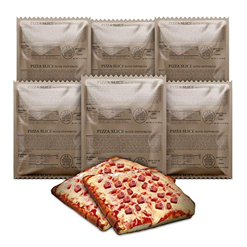 MRE Pizza Slice with Delicious Mozzarella Cheese and Pepperoni 3 years Shelf Life (6)