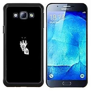 - Devil in White Gloves For Samsung Galaxy A8 A8000 Duro Snap en el tel???¡¯???€????€?????fono celular de la cubierta @ Cat Family
