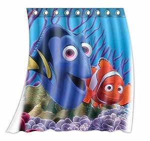 Amazon Com Custom Finding Nemo Pattern Curtain Polyester