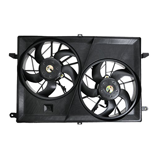 A/c Radiator Cooling Fan (Dual Radiator A/C Cooling Fan 25927026 for Acadia Outlook Enclave Traverse)