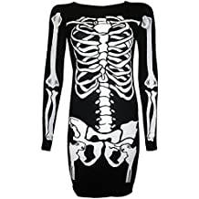 For G and PL Halloween Women Funny Long Sleeve Party Dresses