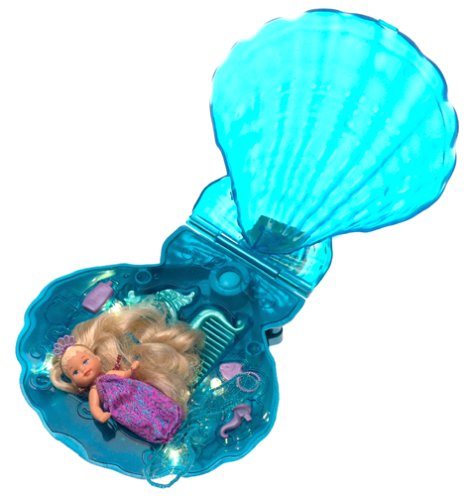 Mattel Magical Mermaids Barbie and Krissy Doll Light-up T...