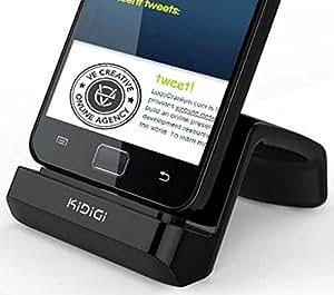 KiDiGi DESKTOP LITE CHARGER CRADLE AC USB WALL CASE DOCK FOR LG G2 PHONE VERIZON VS980, AT&T D800, TMOBILE D801, SPRINT LG980