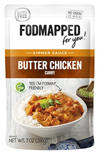FODMAPPED - Low FODMAP Butter Chicken Simmer Sauce 7 OZ (200g)