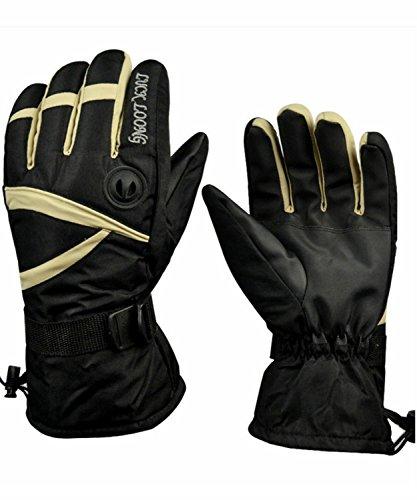 Men's Ski Gloves Warm Waterproof Air Permeability Snowboard Gloves Winter Outdoor Sports Ski Gloves Motorcycle Snow Gloves