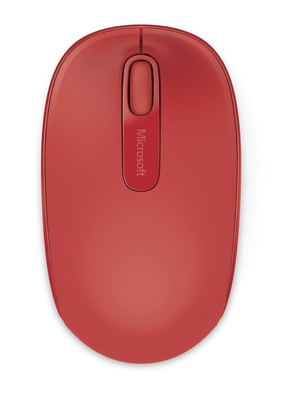 Microsoft Wireless Mobile Mouse 1850 - Black - U7Z-00002