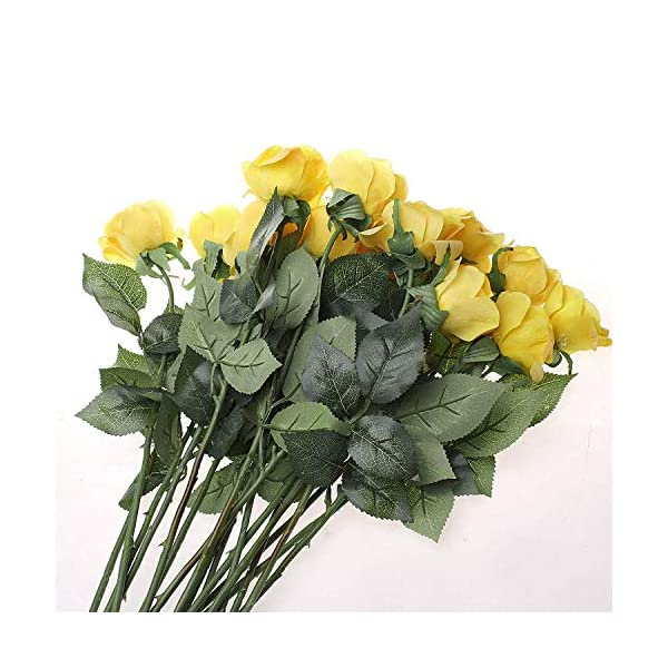 IPOPU-10-Pcs-Romantic-Real-Touch-Artificial-False-Latex-Silk-Blooming-Roses-Bouquet-Floral-Leaf-for-Home-Wedding-Party-Garden-Bridal-Hydrangea-Decorations-DIY-Yellow