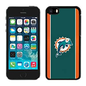NFL&Miami Dolphins 15 iPhone 5C Case Gift Holiday Christmas Gifts cell phone cases clear phone cases protectivefashion cell phone cases HLNB605584921