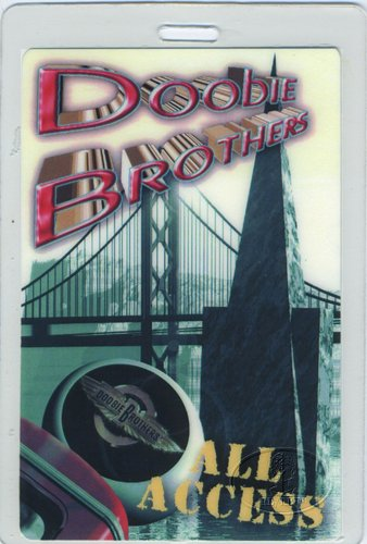 Doobie Brothers 1996-97 Laminated Backstage Pass