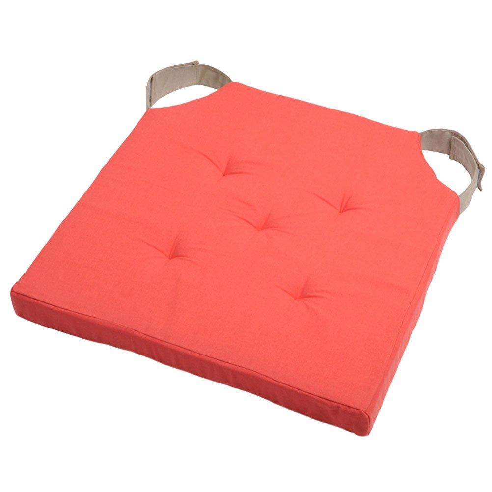 algod/ón Lovely Casa Galette Velcro 40/x 40/cm Coral//Lin