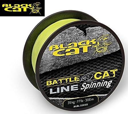 Black Cat Battle Cat Line Spinning 300 M, 0,35 mm 35 kg amarillo ...