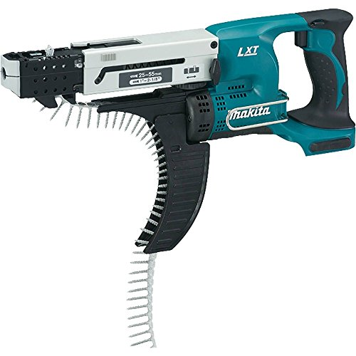 - Makita XRF02Z 18V LXT Lithium-Ion Cordless Autofeed Screwdriver Kit