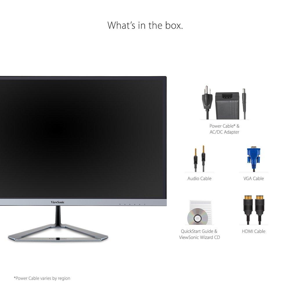 ViewSonic VX2276-SMHD 22'' IPS 1080p Frameless LED Monitor HDMI, DisplayPort by ViewSonic (Image #6)