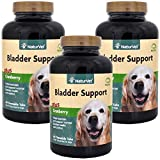 3 PACK Naturvet Bladder Support Plus Cranberry Time Release (180 Chews)