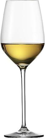 Schott Zwiesel 112492Vino Blanco Cristal, Cristal, Transparente, 6Unidades