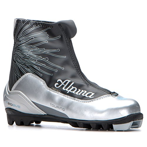 Alpina Eve T 20 Womens NNN Cross Country Ski Boots - 37/Silver