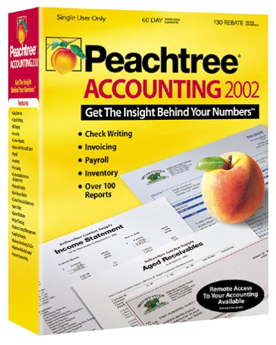 Peachtree(R) Accounting 2002