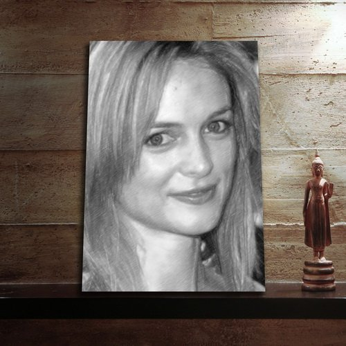 Seasons Heather Graham - Original Art Print (Large A3 - Signed by The Artist) #js007