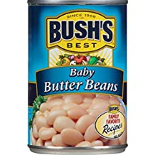 Bush's Best Baby Butter Beans, 16 oz (12 cans)