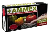 AMMEX - PGLOVE-M-500-BX - Poly Gloves - Disposable, Food Service, 1 mil, Medium, Clear (Box of 500)