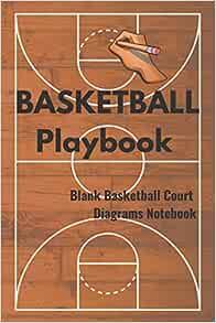BASKETBALL Playbook Blank Basketball Court Diagrams ...