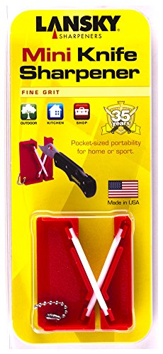 Lansky Mini Crock Stick Pocket Sharpener LCKEY