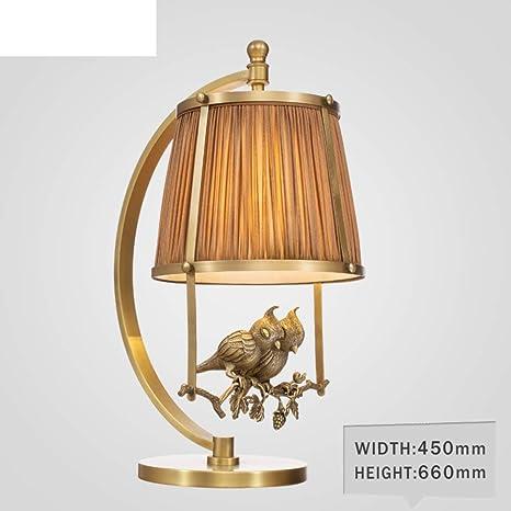 Lámpara de noche para dormitorio,Lámpara de mesa salón Lámpara de ...