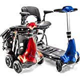 Mobie + Plus Folding Travel Lithium Powered Electric Scooter RED
