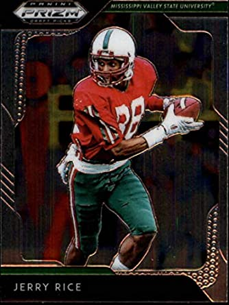 official photos c818c 37571 Amazon.com: 2019 Prizm Draft Picks Football #46 Jerry Rice ...