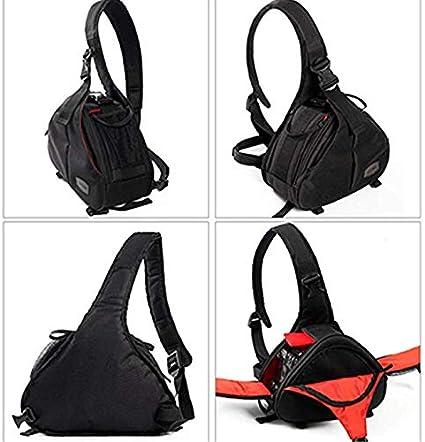 SHZJZ-BP Digital Camera Bag Diagonal Cross Shoulder Cover One Shoulder Camera Bag SLR Camera Bag Take It on A Long Journey