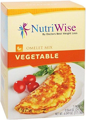 NutriWise - Vegetable High Protein Omelet (7/Box)