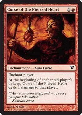 Aura Heart - Magic: the Gathering - Curse of the Pierced Heart - Innistrad