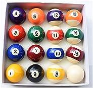 TGA Sports Pool Balls Set Billiard Balls Set Not Regular Size