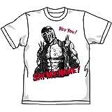 北斗の拳 SAY MY NAME!Tシャツ ホワイト サイズ:L
