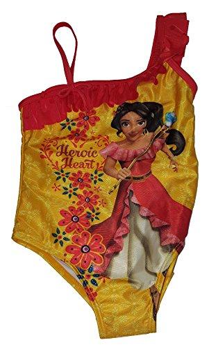 Girls Disney Elena Of Avalor One Piece Swimsuit - Small